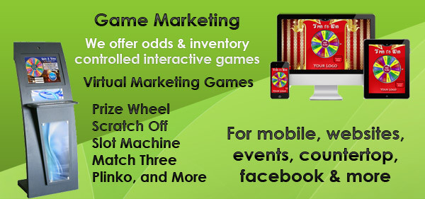 Interactive Marketing : Virtual Prize Wheel