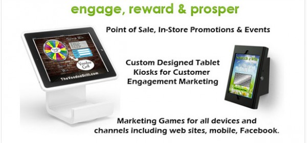 POS Tablet Kosk promotions