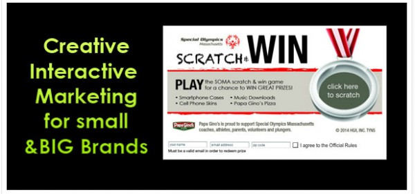 Virtual Scratch Off, Prize Wheel, Plinko and others