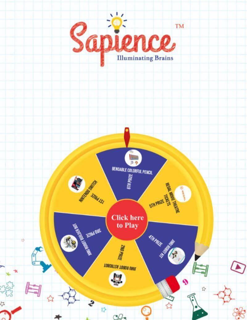 branded digital prize wheel