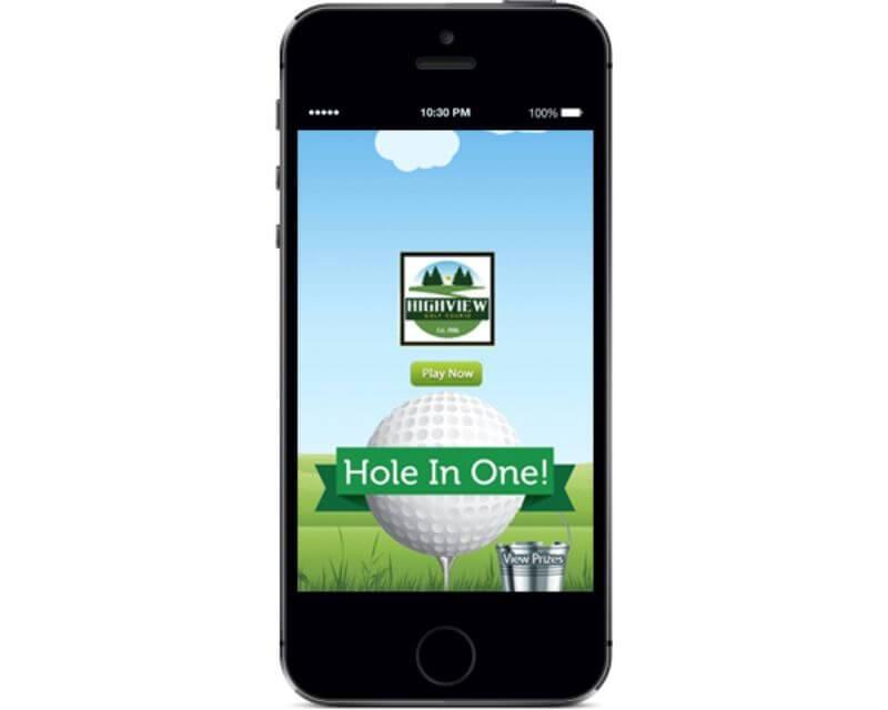Mobile digital marketing game