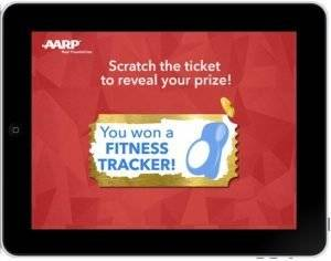 interactive digital scratch off game