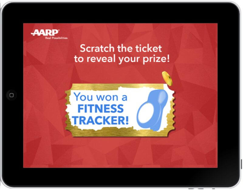 interactive digital scratch off game
