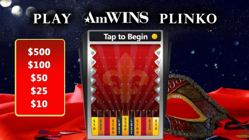 Event marketing Plinko game