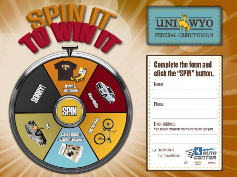 digital prize wheel