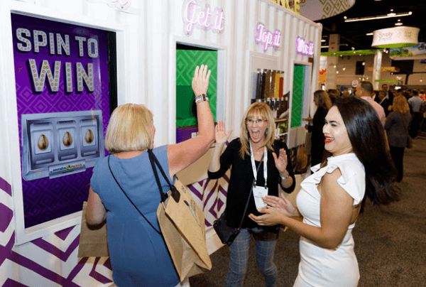 Interactive Trade Show Booth