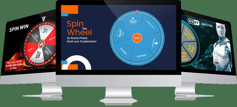 digital online prize wheel