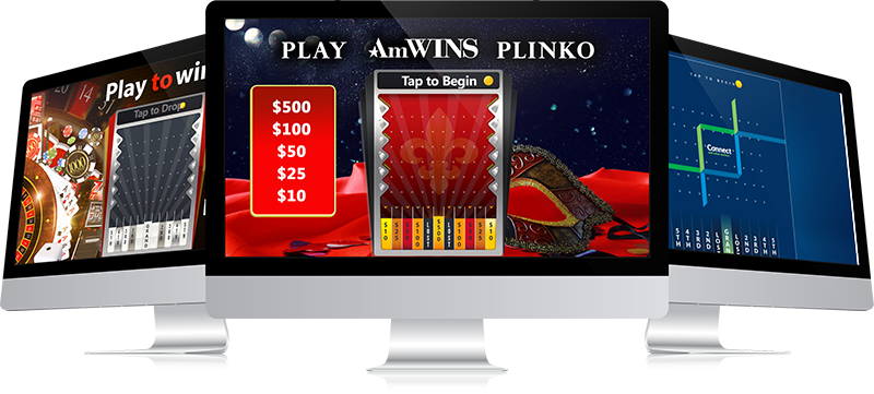 Plinko Style Marketing Game
