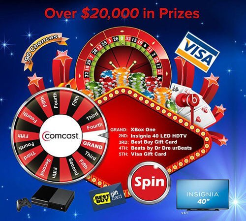 Promotional Spinning Prize Wheel