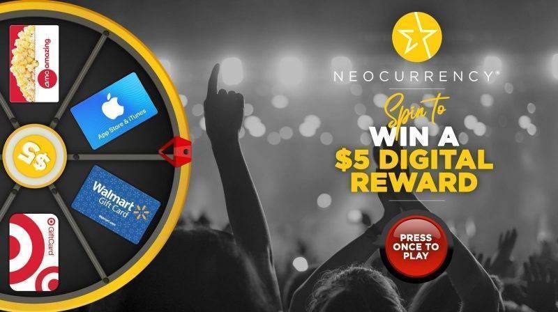 2020 Virtual Prize Wheel for Digital Rewards